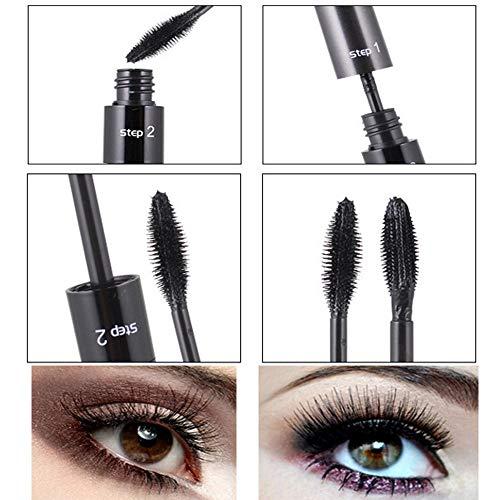 Mascara Fibre Noire Long Cils 4D Outil de Maquillage des Yeux Imperméable Extension de Cils Beauté Cosmétiques