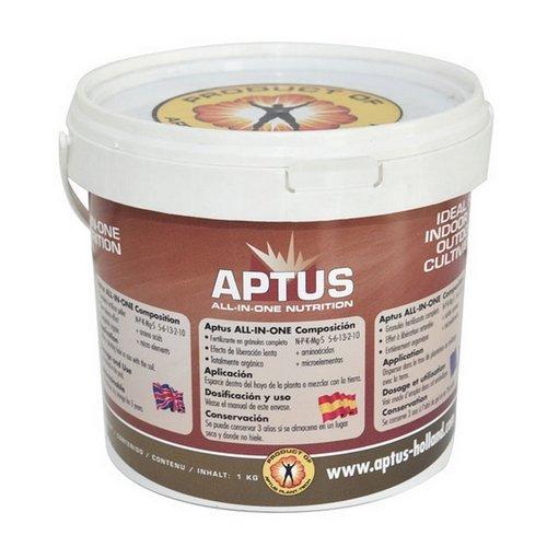 Fertilisant en granulés 100% organique Aptus Holland All-in-One (1Kg)