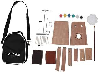 MagiDeal 1 Set DIY 10key Kalimba Set Finger Percussion Thumb Klavier Kit