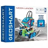 Geosmart Magnetformen Magnet Moon Lander mit Fernbedienung 31 Teile GEO 212