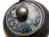 Original japanisches Teeservice KIKUMON Japan Teeset Porzellan in Geschenkbox Kanne 600 ml - 3