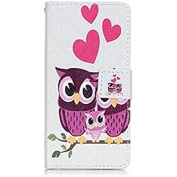 idatog - Zapatillas de tenis para mujer Family Owl Sony Xperia X