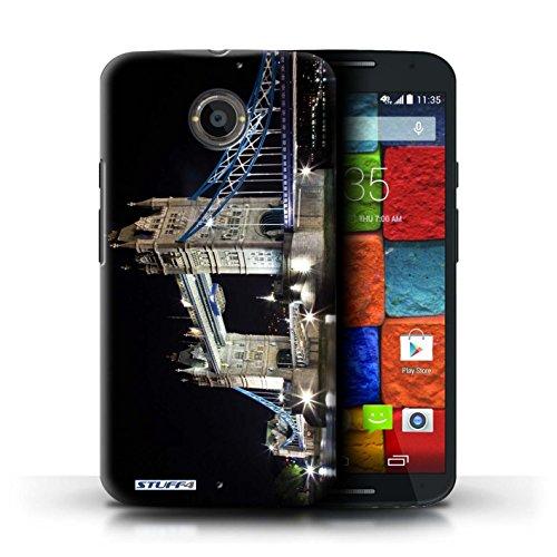 Kobalt® Imprimé Etui / Coque pour Motorola Moto X (2014) / Tower Bridge conception / Série Londres Angleterre Tower Bridge