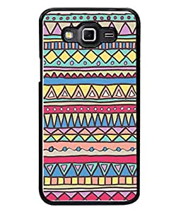 PrintVisa Designer Back Case Cover for Samsung Galaxy Grand Max G720 (Jaipur Rajasthan Tribal Azitec Mobiles Indian Traditional Wooden)