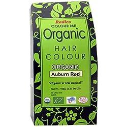 Radico - Tinte vegetal orgánico para el cabello - Castaño rojizo