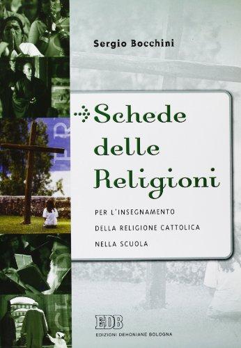 Schede delle religioni per l'insegnamento della religione cattolica nella scuola