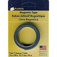 Magnum Magnetics Cinta magnética, Negro, 1/2x 30Pulgadas