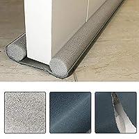 Under Door Draft Blocker, MOGOI 36 Inch Door Air Draft Stopper Double Sided Sound Dust Proof Reduce Noise Window Breeze Blocker Adjustable for Doors Windows