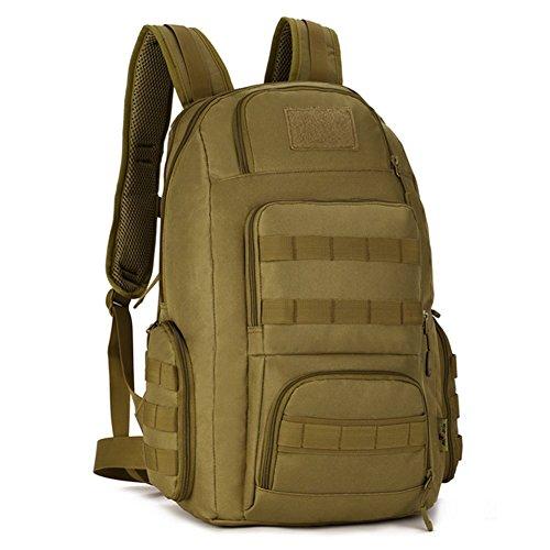 Everdoss Unisexe sac à dos en nylon sac de trekking sac d'alpinisme sac tactique sac de randonnée sac de voyage de loisirs