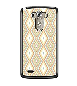 PrintDhaba Pattern D-5230 Back Case Cover for LG G3 (Multi-Coloured)