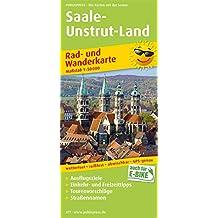 Saale-Unstrut-Land: Rad- und Wanderkarte mit Ausflugszielen, Einkehr- & Freizeittipps sowie Nebenkarte Ziegelrodaer Forst und Querfurt, ... 1:50000 (Rad- und Wanderkarte / RuWK)