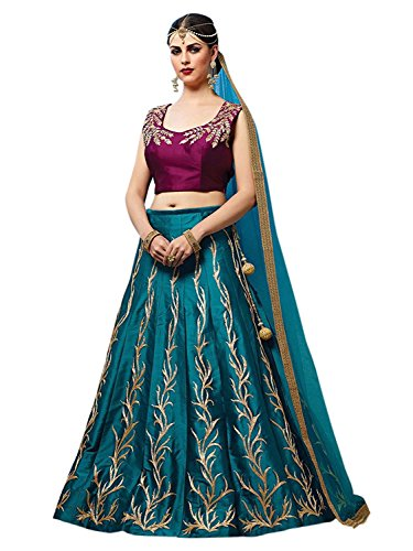 HMP Fashion Women\'s Designer Heavy Lehenga choli With Dupatta - Dress material Free Size Festival Special Sale 50% OFF