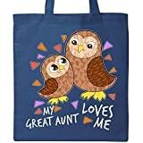 Best Great Aunt - Inktastic My Great Aunt Loves Me- cute owl Review