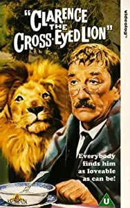 Clarence the Cross Eyed Lion [VHS]