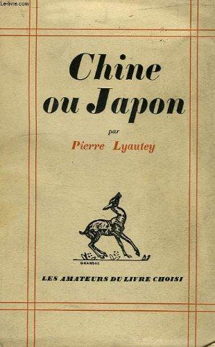 Chine ou Japon.
