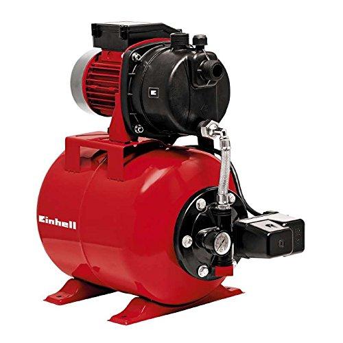 Einhell Hauswasserwerk GC-WW 6538 (650 W, 3800 l/h Fördermenge, max. Förderdruck 3,6 bar, Druckschalter, Manometer, 20 l Behälter)
