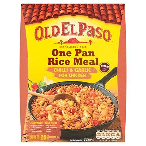 old-el-paso-de-chile-y-ajo-una-cacerola-de-arroz-355g-kit