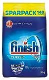 Finish Calgonit Classic Reiniger-Pulver, Geschirrspülmittel, Spülmaschinenpulver, Kraftvolle Reinigung mit Aktiv-Einweichstoffen, 3er Pack (3 x 3 kg)