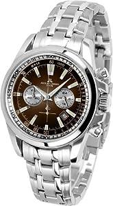 JACQUES LEMANS Liverpool 1-1117jN - Reloj de caballero de cuarzo, correa de acero inoxidable color plata de Jacques Lemans