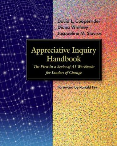 Appreciative Inquiry Handbook par David L. Cooperrider