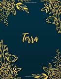 Terra: Personalized Name Notebook/Journal  Perfect...