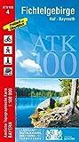 Blatt 4 Fichtelgebirge 1:100 000 (ATK100 Amtliche Topographische Karte 1:100000 Bayern) - Ldbv Bayern