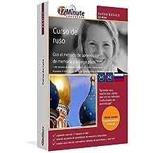 Curso de ruso para principiantes (A1/A2): Software compatible con Windows y Linux. Aprende ruso con el método de aprendizaje de memoria a largo plazo