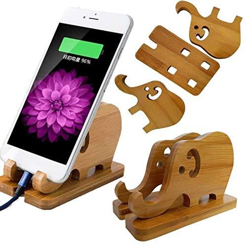 Supporto per Telefono Elefante bamb� Naturale