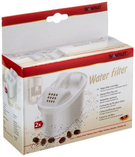 Braun 2790000450 Tassimo Wasserfilter, 2 Stück