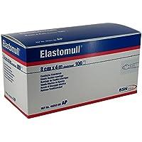 Elastomull 8 cmx4 m 45252 Elastische Fixierbinde, 100 St preisvergleich bei billige-tabletten.eu