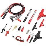 Multímetro Digital Cables, Kit de Cables de Prueba, Cables de Multímetro, de Plástico ABS, para Multímetro