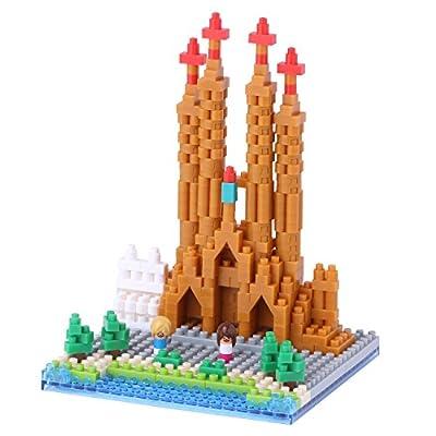 nanoblock NAN-NBH098 Sagrada Familia St Building Set