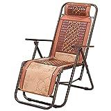 Sessel ZHANGRONG Einfache Büro-Liegesessel Faltende Mittagspause Familienstuhl Nap-Bett Alter Stuhl Sommerschlafstuhl (Farbe Optional) -Geeignet für Innen- und Außenbereich (Farbe : A)