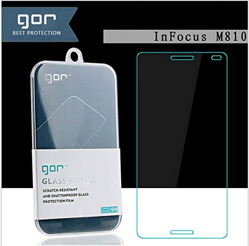 Higar GOR Amazing Arc Edge HD Screen Guard Tempered Glass For Infocus M810