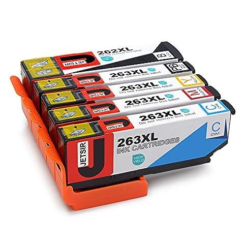 JETSIR Compatible Cartouches d'encre Replacement pour Epson 26XL, Grande capacité Compatible avec Epson Expression Premium XP-610 XP-605 XP-620 XP-625 XP-700 XP-710 XP-510 XP-520 XP-600 XP-615 XP-720 XP-800 XP-820 XP-810 Imprimante (1 Noir, 1 Photo Noir,1 Cyan, 1 Magenta, 1 Jaune)