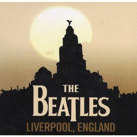 The Beatles magnético Liverpool 7,7x 7,7cm