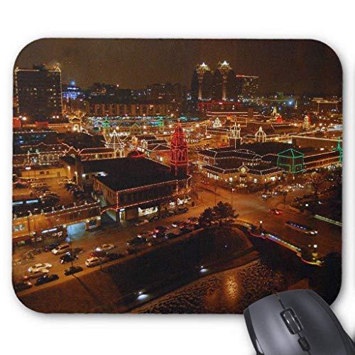 Drempad Gaming Mauspads Custom, Kansas City Plaza Lights Mousepad