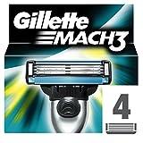 Gillette Mach 3 Lames de rasoir Pack de 4