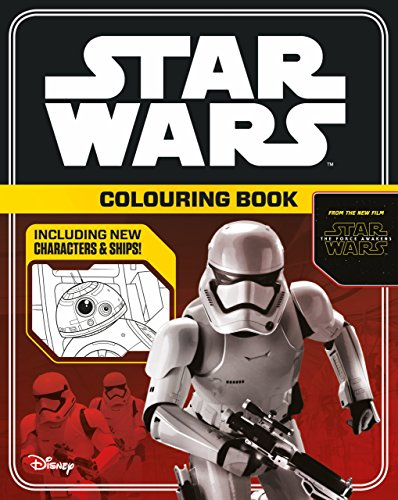 Star Wars The Force Awakens: Colouring Book (Star Wars Colouring Books) por Lucasfilm