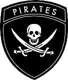Auto Aufkleber Pirat Totenkopf Skull Sticker