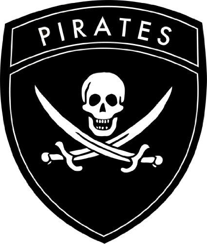 Michael & Rene Pflüger Barmstedt Auto Aufkleber Pirat Totenkopf Skull Sticker