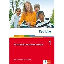 Red Line. Unterrichtswerk für Realschulen / Fit für Tests und Klassenarbeiten 1. Arbeitsheft mit CD-ROM 5. Schuljahr