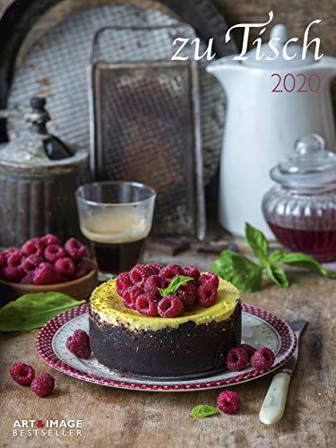 zu Tisch 2020 A&I - Posterkalender - 48x64cm - Küchenkalender - Kochkalender - Küche - Wandkalender
