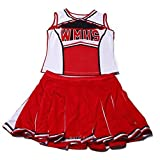 by Gabriela Boutique New Women's Red & White Glee Cheerleader Costume Outfit Fancy Dress Hen Night Halloween Size M 10 12