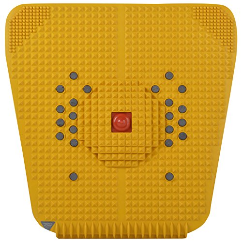 Acupressure Health Care Product Acp Super Power Mat IV 2000 (30 cm x 30 cm, Yellow)