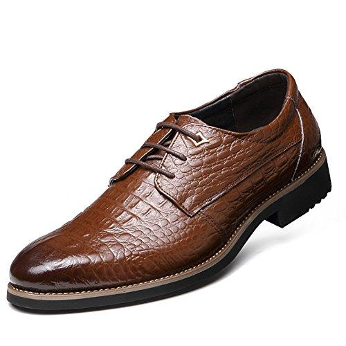 Business casuale scarpe/ scarpe d'Inghilterra cinturino-C Lunghezza piede=24.8CM(9.8Inch)