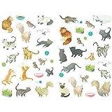 Maildor Mimi grupos de pegatinas de gatos Diseño de, Multi-color