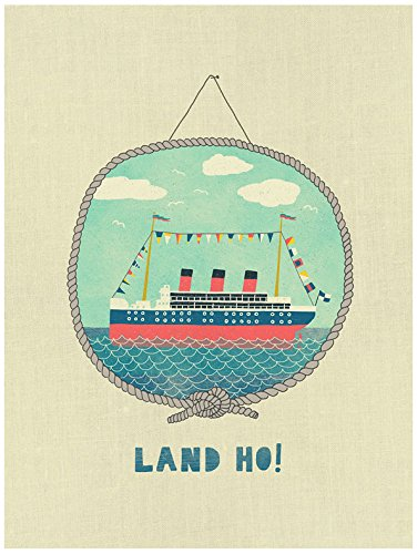 Oopsy Daisy BR & nameinternal, Nautical Sea - L & Ho 28 x 35 Poster, dass Stick, von Nancy Mckenzie