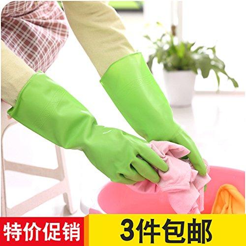 XXAICW Frühjahr/Sommer-Handschuhe für Hausarbeit Handschuhe dünn Küche Bad Abdichtung Geschirrspülmittel Handschuhe zum Waschen von Kleidung und praktische Stiefel, S, Rot (Rot Geschirrspülmittel Handschuhe)