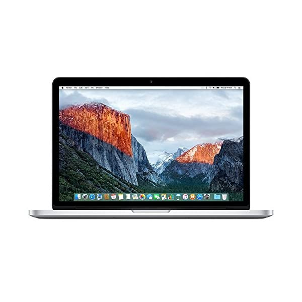 Apple MF839B/A MacBook Pro 13.3 inches (Silver)-(Core i5 2.7GHz, 8GB RAM, SSD) (Refurbished) 51Z3HDO 2BpML